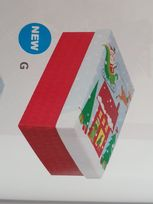 Colourful Santa Small Gift Box